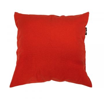Plain Red Almohada