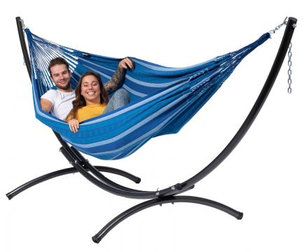 Arc & Chill Calm Hamaca Doble con Soporte