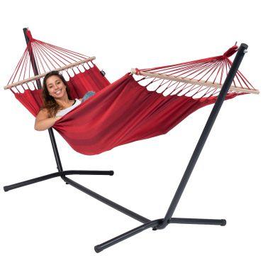 Easy & Relax Red Hamaca Individual con Soporte