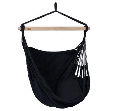 Comfort Black Silla Colgante Individual