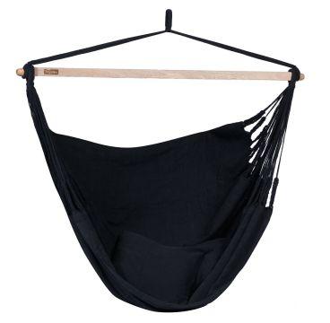 Luxe Black Silla Colgante Doble