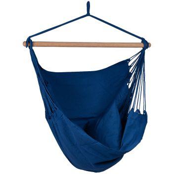 Organic Blue Silla Colgante Individual