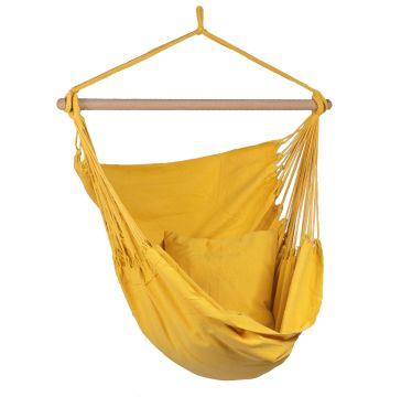 Organic Yellow Silla Colgante Individual