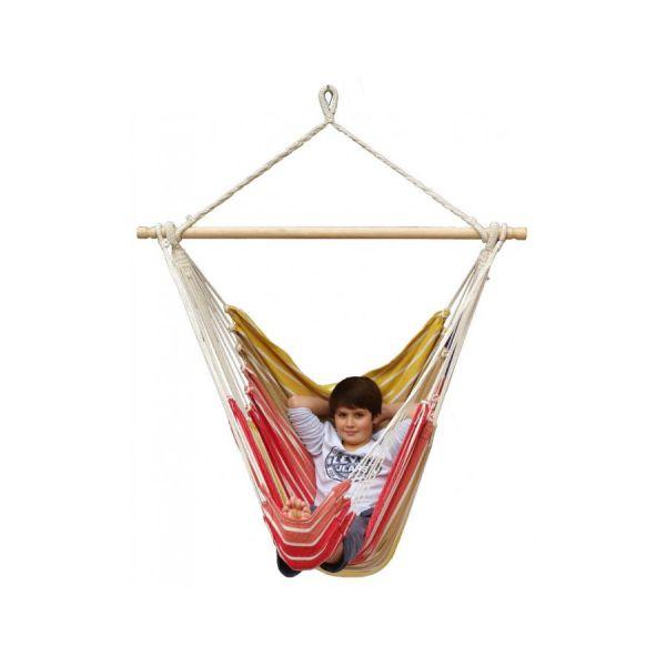 'Tropical' Earth Lounge Silla Colgante Individual